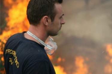 Κάηκε πάλι ο Κούμαρος στη Ναύπακτο