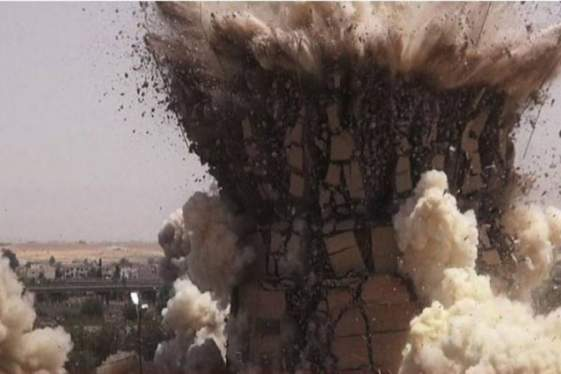 Οι τζιχαντιστές ανατίναξαν τον ναό Βάαλ στην Παλμύρα