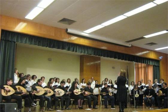 """Tο τμήμα Παραδοσιακής Μουσικής του Δήμου Αγρινίου στην εκδήλωση του συλλόγου των εν Αθήναις Αγρινιωτών """"ΡΙΖΑ"""""""