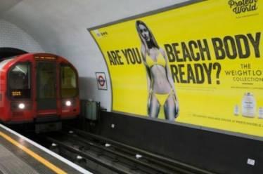 Όχι σε σεξιστικές διαφημίσεις είπε ο δήμαρχος του Λονδίνου