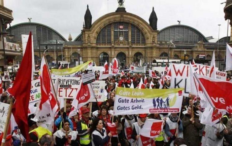Γερμανικά Συνδικάτα:«Ελάφρυνση χρέους και τερματισμό λιτότητας, για να τελειώσει η Ελληνική κρίση»