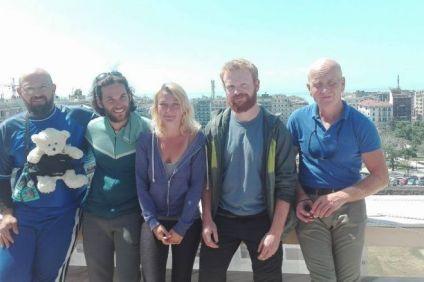 Πορεία ειρήνης από το Βερολίνο στο Χαλέπι