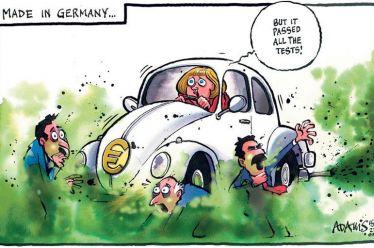 Γερμανία, σκάνδαλα κατά συρροή