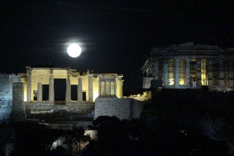 Πανσέληνος Αυγούστου στη Δυτική Ελλάδα