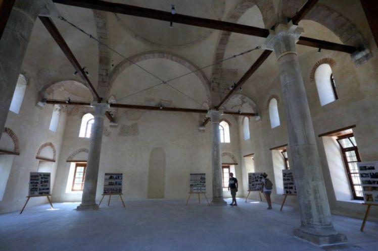 Με μια φωτογραφική έκθεση άνοιξε για το κοινό το Φετιχιέ τζαμί στη Ρωμαϊκή Αγορά