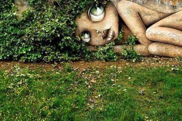Tα graffiti που… διαδρούν με τη φύση