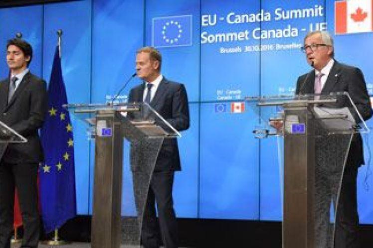Στο Ευρωπαϊκό Δικαστήριο το Βέλγιο κατά της CETA