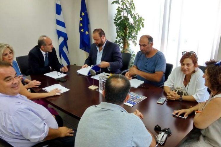 Συνάντηση Κατσιφάρα με Διοικούσα Επιτροπή του ΤΕΕ Δυτ. Ελλάδας