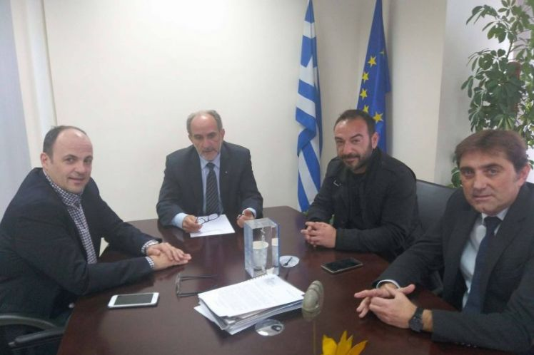 Συνάντηση του Περιφερειάρχη με τον πρόεδρο του Επιμελητηρίου Αχαϊας Πλάτωνα Μαρλαφέκα