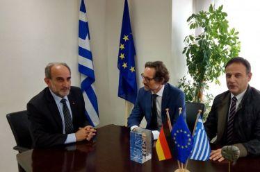 Συνάντηση Κατσιφάρα με Γερμανό Πρέσβη