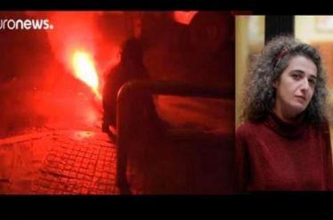 Η συγκινητική ανάρτηση της δικηγόρου που τραυματίστηκε από ναυτική φωτοβολίδα – «Θα ξαναβρεθούμε στο δρόμο»