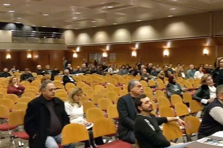 Με άδειες καρέκλες η πρώτη μέρα του Συνεδρίου της ΠΟΕΔΗΝ
