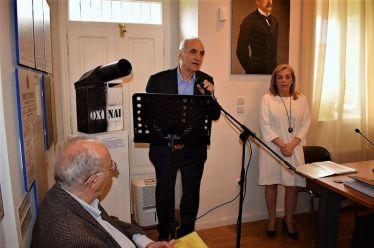 Ο κ. Βαρεμένος, εκπροσωπεί τη Βουλή των Ελλήνων στις εκδηλώσεις για την επέτειο της Εξόδου του Μεσολογγίου