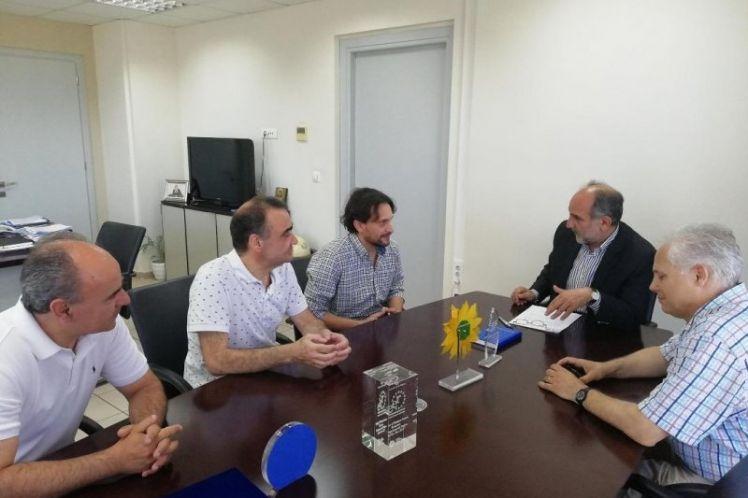 Ορκίστηκε νέος Περιφερειακός Σύμβουλος ο Βασίλης Κουμπούρας