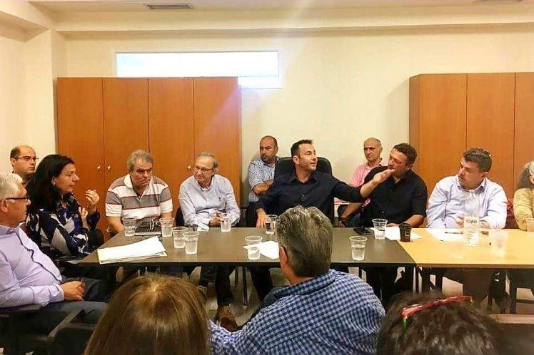 Σύσκεψη για θέματα σταυλικών εγκαταστάσεων- Συζήτηση στο περιφερειακό Συμβούλιο για την μειωμένη τιμή του γάλακτος
