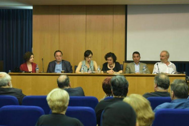 Πραγματοποιήθηκε συνέντευξη τύπου της Πρωτοβουλίας των 1-1-4 για ένα Μέτωπο αριστερών προοδευτικών πατριωτικών δημοκρατικών αντιμνημονιακών δυνάμεων