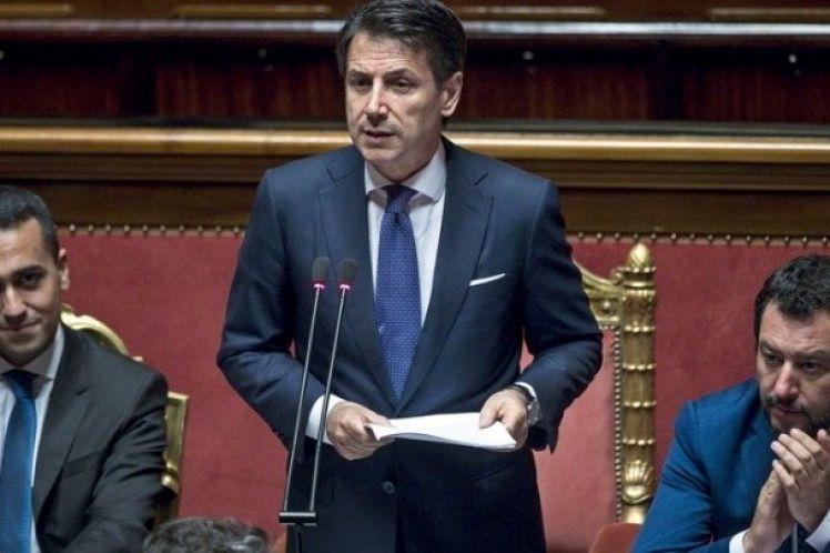 H ιταλική γερουσία έδωσε ψήφο εμπιστοσύνης στην κυβέρνηση Κόντε