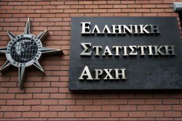 ΕΛΣΤΑΤ: Ανάπτυξη 1,8% σημείωσε η ελληνική οικονομία το β' τρίμηνο εφέτος