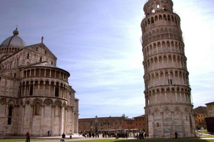 Ο Κεκλιμένος Πύργος της Πίζας
