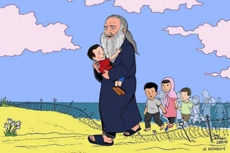 Tέσσερα χρόνια χωρίς τον «Άγιο» των προσφύγων