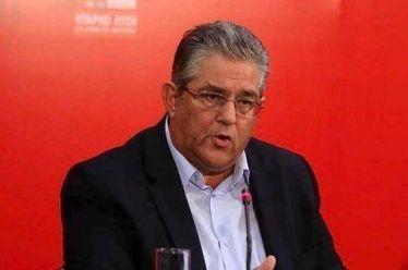 Κουτσούμπας: Η συνεκμετάλλευση δεν αποτρέπει αλλά προετοιμάζει την πολεμική εμπλοκή