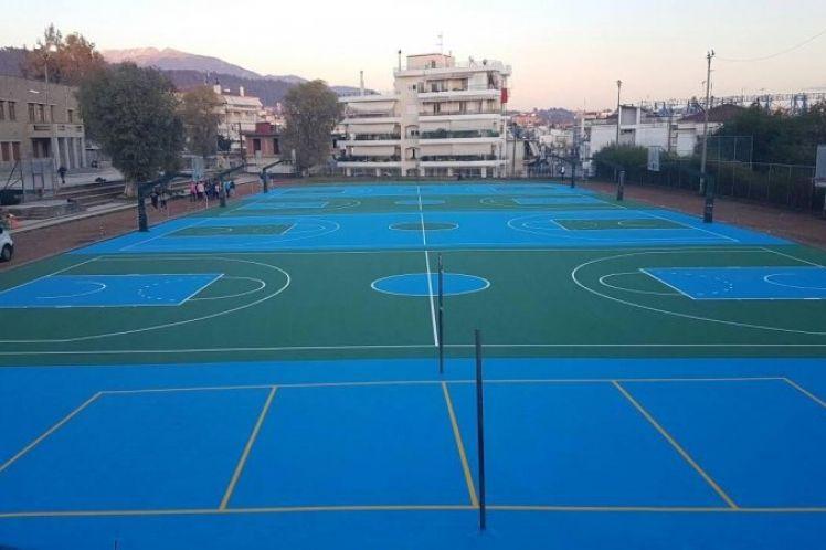 Επισκευή και Συντήρηση σχολικών κτιρίων και αύλειων χώρων προϋπολογισμού 1.100.000,00€.
